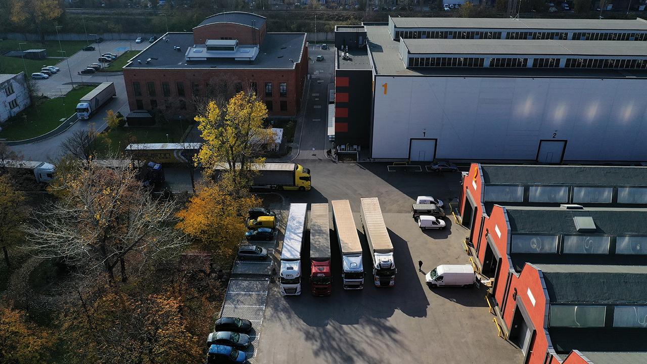 Noul centru de birouri și logistică
